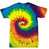 Colortone Rainbow T-Shirt – 100% Cotton – For Children multicolour Arcobaleno Large