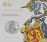 TGBCH The Queen's Beast Unicorn of Scotland £5 B.U Coin 2017