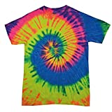 Colortone Boys' T-Shirt white Neon Rainbow One Size