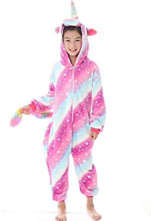pink and unicorn onesie for girls