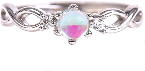 Rainbow moonstone gem
