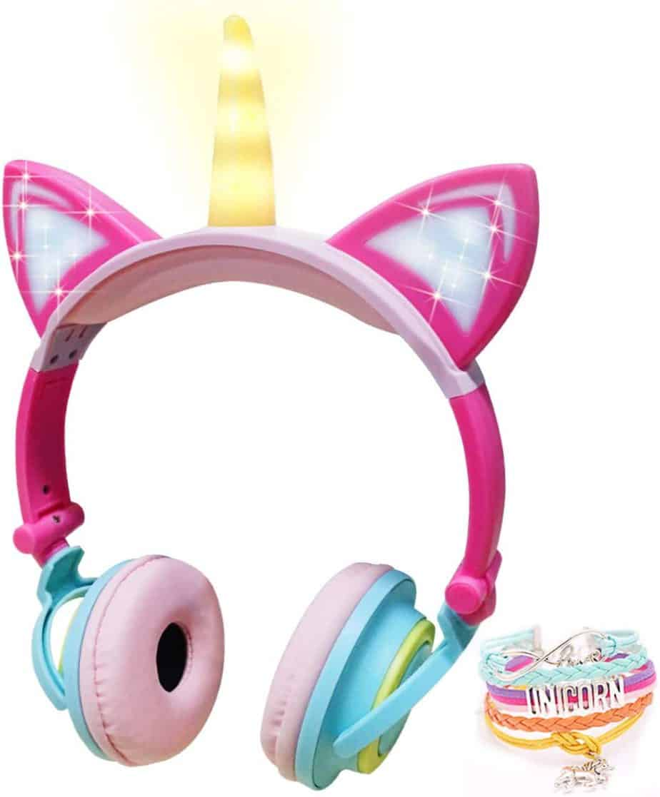 cutest unicorn headphones