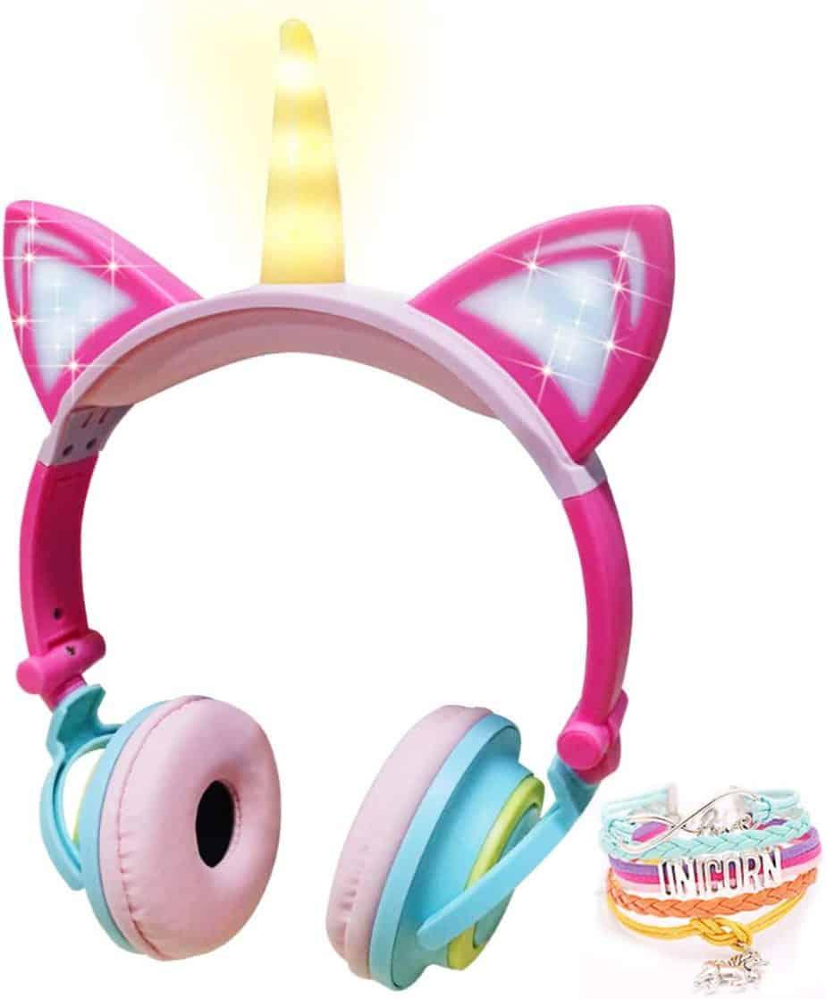 cutest unicorn headphones