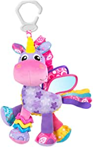unicorn baby toys purple and pink