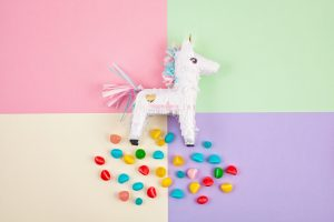 unicorn pinata birthday