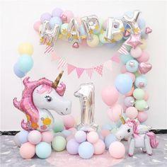 unicorn ballon birthday